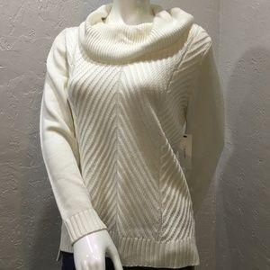 Calvin Klein cowl neck sweater size M